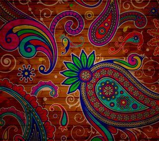 Обои на телефон трогать, шаблон, цветные, текстуры, красочные, hippie, colorful touch
