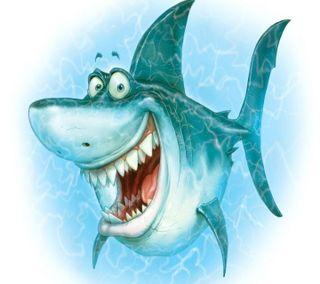 Обои на телефон анимация, акула