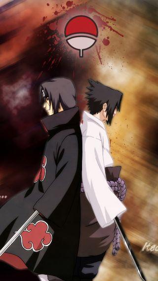 Обои на телефон учиха, саске, итачи, аниме, itachi x sasuke