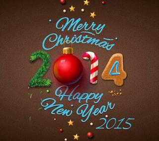 Обои на телефон 2014, 2015, christmas new year, новый, рождество, счастливое, украшение, год, праздновать