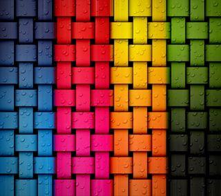 Обои на телефон твист, радуга, красочные