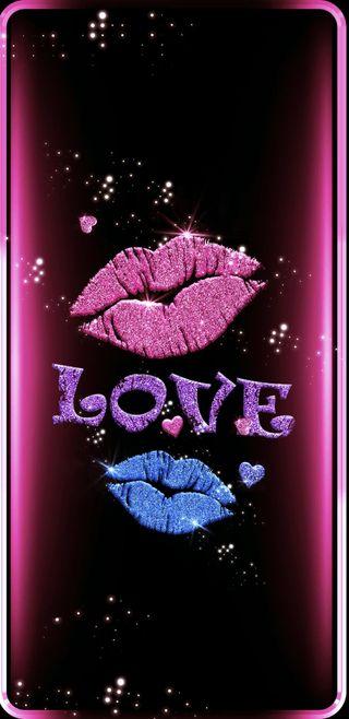 Обои на телефон поцелуй, любовь