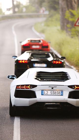 Обои на телефон роскошные, машины, ламборгини, дорога, luxury, lamborghini