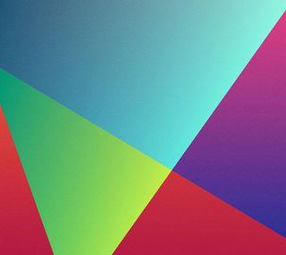 Обои на телефон цветные, фиолетовые, синие, материал, линии, красые, зеленые, material parallax, darkdroid