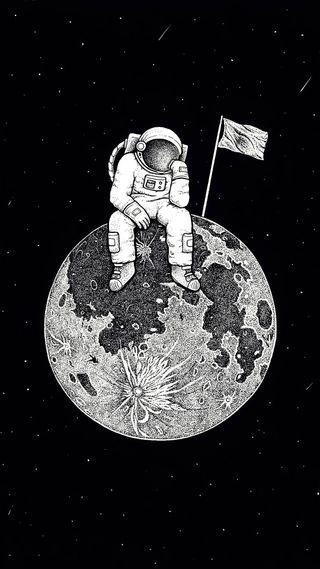 Обои на телефон щит, тема, флаг, прайд, полиция, отряд, логотипы, космос, mower, floatingkiddospace, astronut