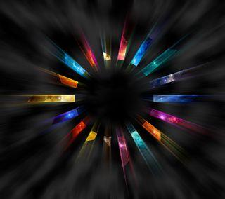 Обои на телефон круги, цветные, красочные, rotation