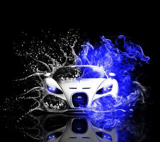 Обои на телефон бугатти, синие, приятные, машины, крутые, гонка, вейрон, автомобили, bugatti