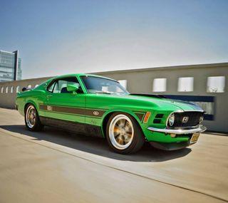 Обои на телефон форд, мустанг, машины, зеленые, ford