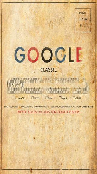 Обои на телефон классика, гугл, rewind, google
