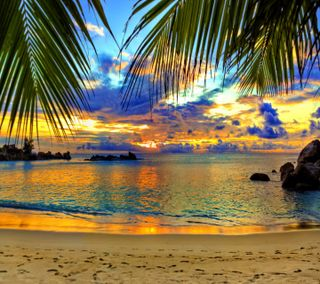 Обои на телефон лето, праздник, пляж, пейзаж, море, hd