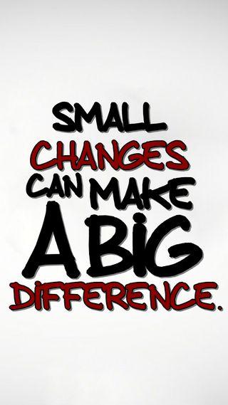Обои на телефон менять, цитата, поговорка, новый, крутые, знаки, difference, big, a big difference