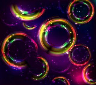 Обои на телефон круги, цветные, фон, красочные, абстрактные