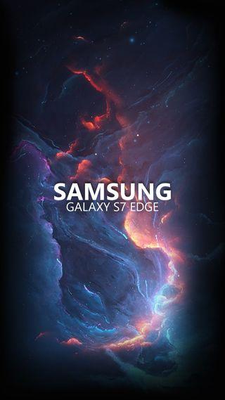 Обои на телефон самсунг, космос, грани, samsung, s7 edge nebulosa, s7 edge, nebulosa