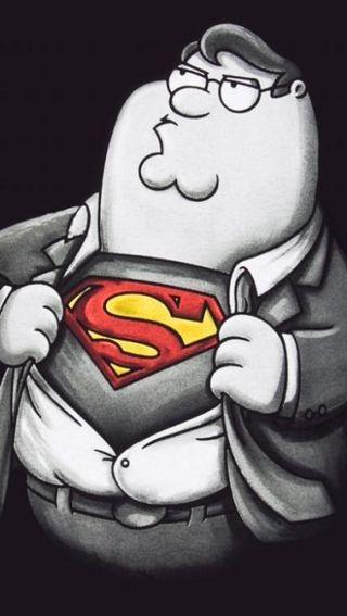 Обои на телефон семья, супермен, супер, питер, парень, peter griffin super, peter griffin
