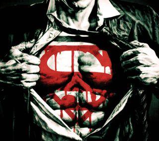 Обои на телефон супермен, стальные, комиксы, герой, супер