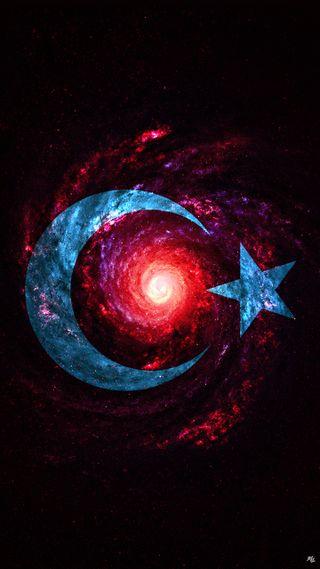 Обои на телефон турецкие, флаг, космос, uzay, turkic, turkei, turk bayragi tr, ay yildiz