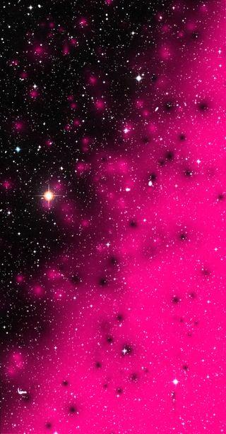 Обои на телефон звезды, черные, розовые, блестящие, black and pink
