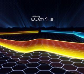 Обои на телефон шаблон, черные, синие, самсунг, логотипы, желтые, галактика, абстрактные, samsung, galaxy s3, galaxy s iii
