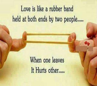 Обои на телефон доверять, цитата, любовь, love