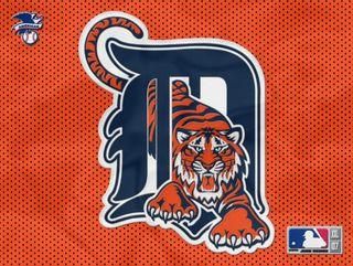Обои на телефон тигры, бейсбол, detroit
