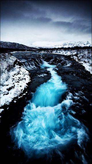 Обои на телефон река, удивительные, синие, вода, вид