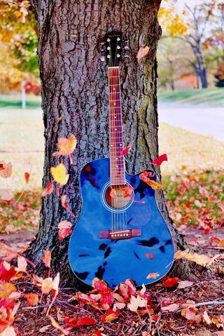 Обои на телефон гитара, рок