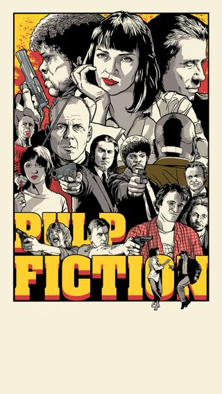Обои на телефон фильм, фикция, кино, pulp fiction