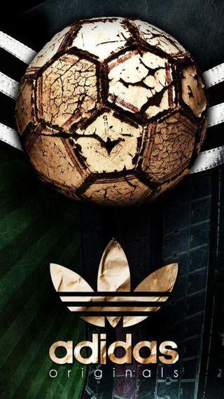 Обои на телефон спорт, мяч, логотипы, адидас, adidas