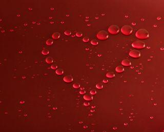 Обои на телефон капли дождя, сердце, любовь, красые, капли, вода, love