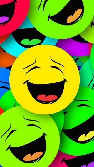 Обои на телефон смайлы, смайлики, красочные, забавные, smiles colorful