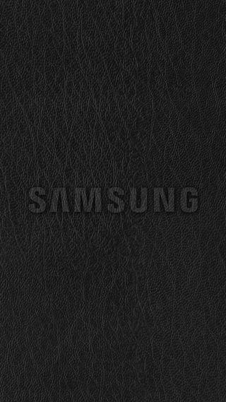 Обои на телефон кожа, черные, самсунг, логотипы, грани, галактика, samsung, galaxy, 2017