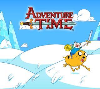 Обои на телефон финн, приключение, мультфильмы, джейк, время, adventure-time