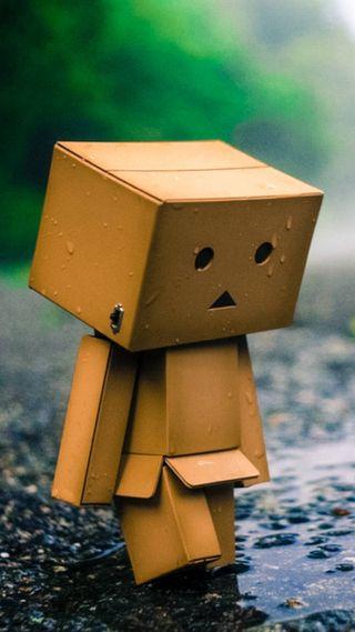 Обои на телефон малыш, коробка, грустные, sad amazon box
