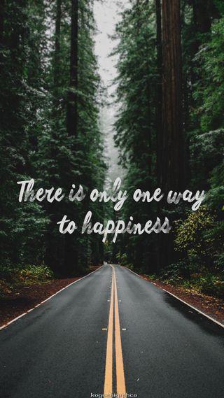 Обои на телефон счастье, счастливые, дорога, happy