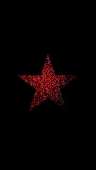 Обои на телефон чистые, звезда, черные, простые, пентаграмма, крутые, красые, worn, hd