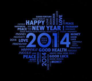 Обои на телефон успех, удача, счастье, мир, здоровье, год, новый, year 2014, fortune, 2014
