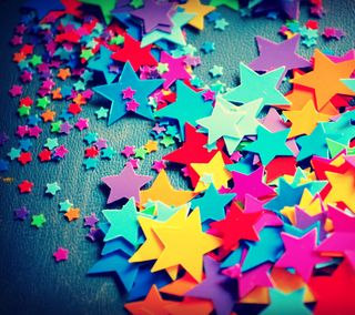 Обои на телефон цветные, маленький, красочные, звезды, colorful stars, big