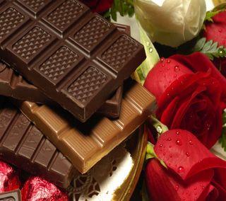Обои на телефон шоколад, приятные, прекрасные, милые, еда, взгляд, chocolate food