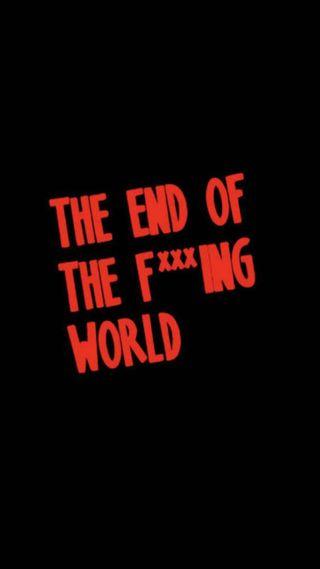 Обои на телефон ряд, мир, конец, джеймс, teotfw, netflix, alyssa
