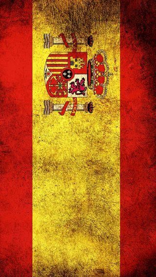 Обои на телефон флаги, испания, флаг, espania