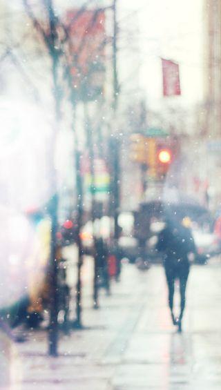 Обои на телефон шторм, снег