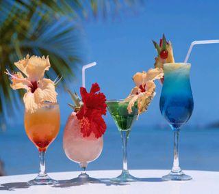 Обои на телефон микс, лето, коктейль, cocktail mix