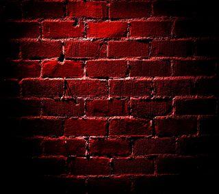 Обои на телефон red  brick wall, красые, стена, кирпичи