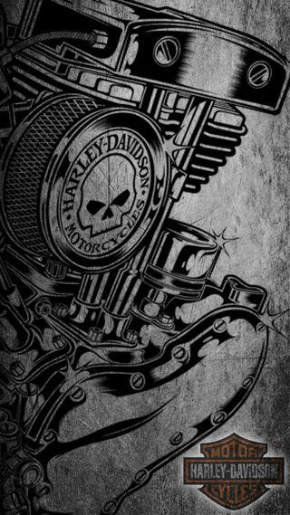 Обои на телефон харли, байкер, мотоциклы, мотивация, harley motor