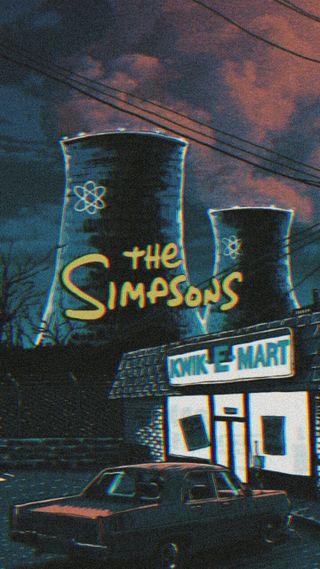 Обои на телефон странные, симпсоны, лиза, дела, гомер, барт, moe, marge, maggie, los simpsons