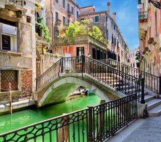 Обои на телефон beautiful venice, venice italy, прекрасные, вода, италия, архитектура, дома, венеция