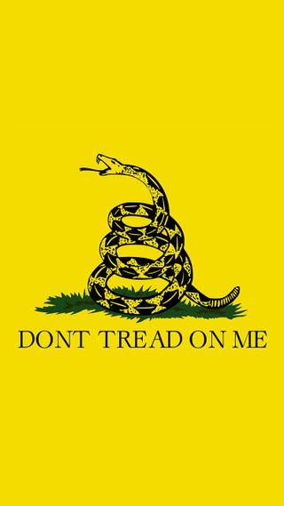 Обои на телефон свобода, я, флаг, патриотический, патриот, не, американские, tread, right, politics, on, libertarian, gadsen, 1776