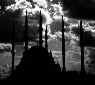 Обои на телефон мечеть, турецкие, central, adana