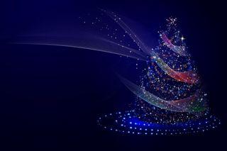 Обои на телефон синие, рождество, деревья, дерево, tree led, led, blu, albero luminoso, albero di natale, albero, alberi