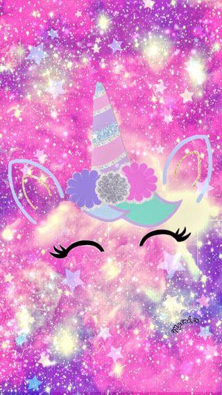 Обои на телефон радуга, звезды, единорог, галактика, galaxy